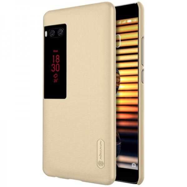 Husa Slim Nillkin Frosted Meizu Pro 7 Plus Gold imagine itelmobile.ro 2021