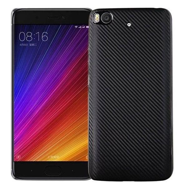 Husa Spate I-zore Fiber Xiaomi Mi 5s Negru imagine itelmobile.ro 2021