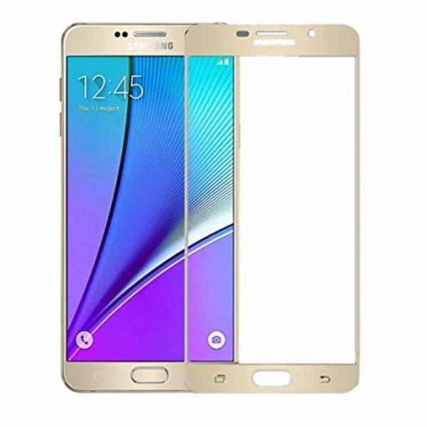 Folie Sticla Full Cover Upzz Samsung A7 2016 Gold imagine itelmobile.ro 2021
