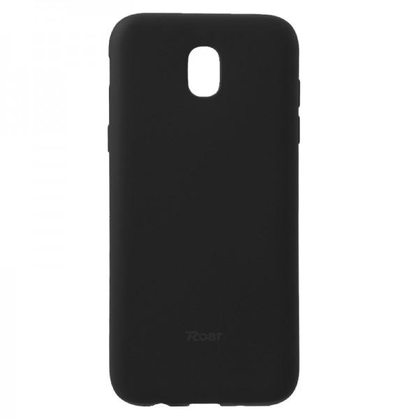 Husa Spate Roar Jelly Case Samsung J7 2017 Negru imagine itelmobile.ro 2021