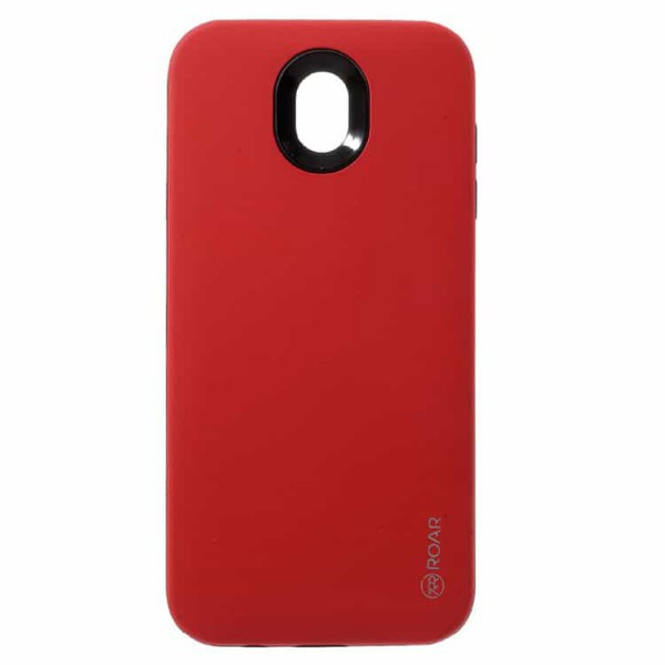 Husa Spate Roar Rico Case Samsung J3 2017 Rosu imagine itelmobile.ro 2021