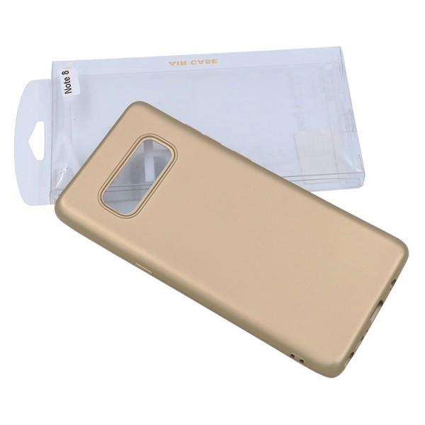 Husa Protectie Silicon 360 Grade Upzz Samsung Note 8 Gold imagine itelmobile.ro 2021