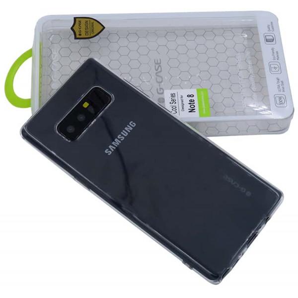 Husa Spate G-case Samsung Note 8 Slim Transparenta imagine itelmobile.ro 2021