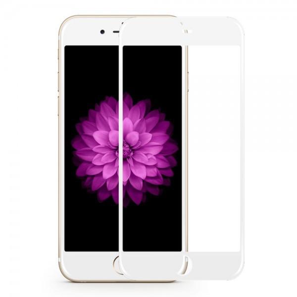 Folie Sticla 3d 0.3mm Full Cover iPhone 8 Alba imagine itelmobile.ro 2021