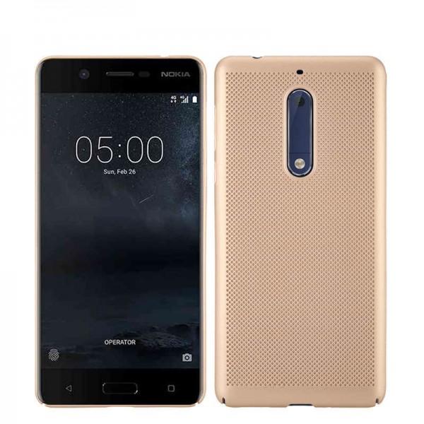 Husa Upzz Slim Air-up Nokia 3 Gold imagine itelmobile.ro 2021