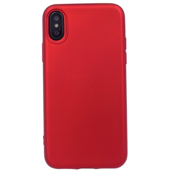 Husa 360 Grade Silicon iPhone X Rosu imagine itelmobile.ro 2021